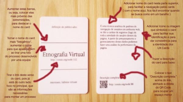 Propostas para UX Cards 3