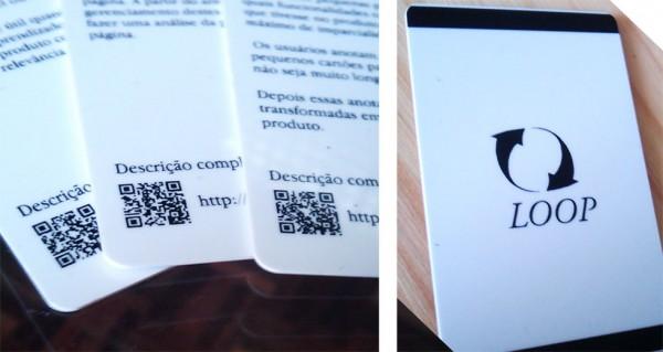 Detalhe do segundo protótipo dos Ux Cards