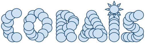 Logo para Corais.org feita no GoogleDocs